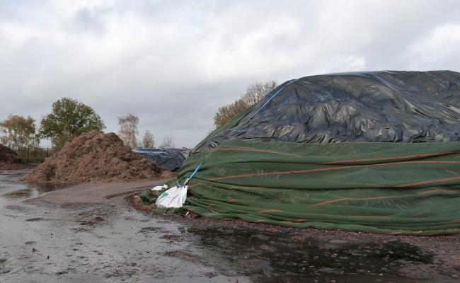 afgedekte graskuil in Nederland
